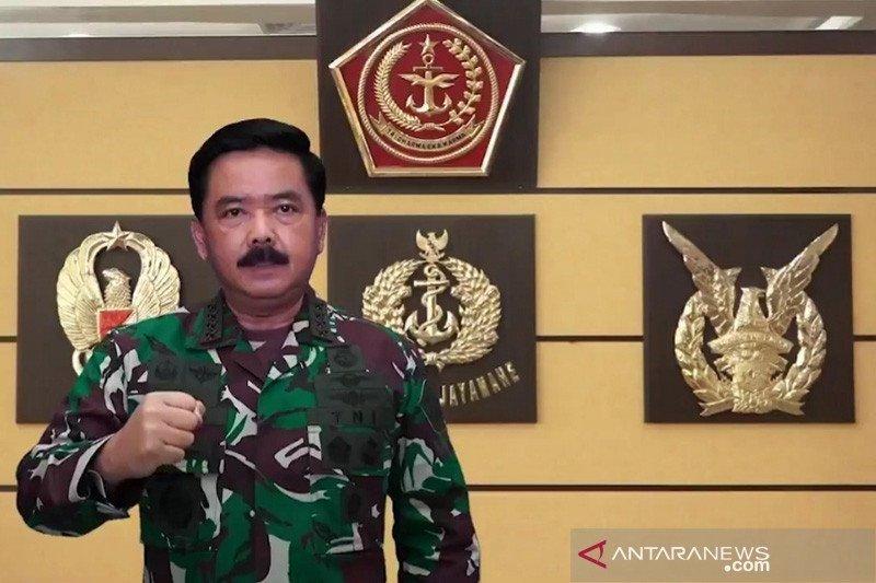 Panglima TNI mutasi jabatan 50 pati