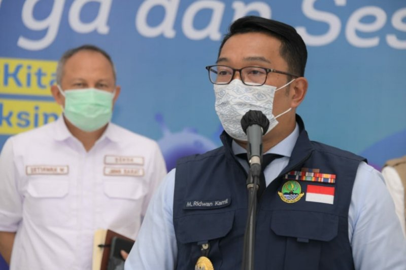 Gubernur Jabar usul ke Kemenkes data penerima vaksin dikelola daerah