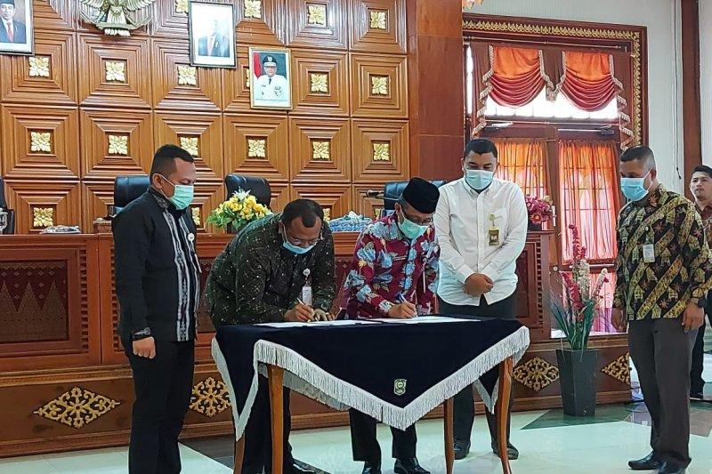 BP Jamsostek dan Pemkab Siak tandatangan kerjasama kepesertaan pegawai non-ASN