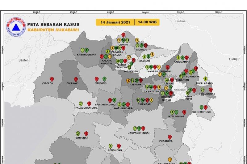 Lebih dari 4.500 warga Sukabumi terinfeksi COVID-19