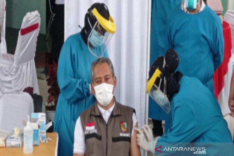 Vaksinasi pertama di Pekanbaru, Wawako sempat alami tensi tinggi