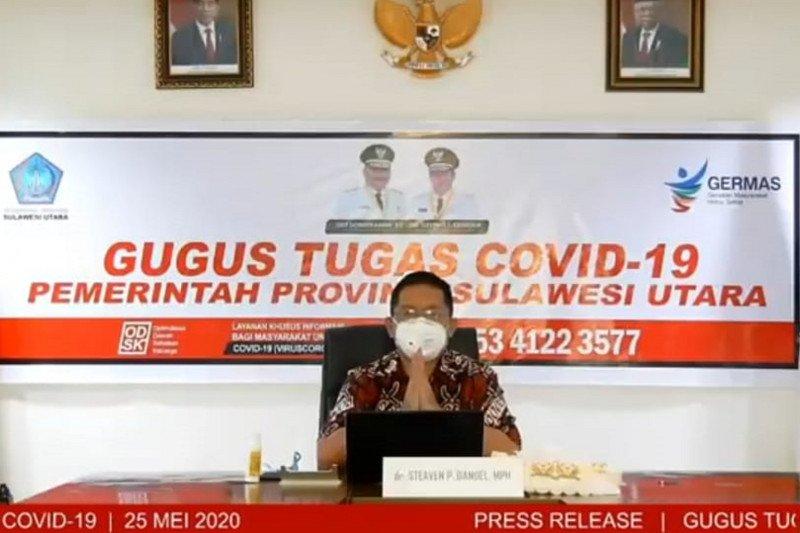 Pejabat publik Pemprov Sulawesi Utara divaksin COVID-19 Jumat (15/1)
