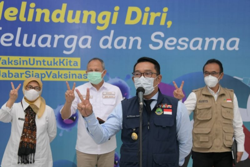 Gubernur Jabar ajak media masif edukasi warga tentang kesuksesan vaksin