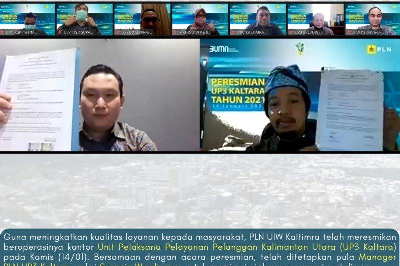 PLN UP3 Kaltara untuk meningkatkan kualitas layanan kelistrikan