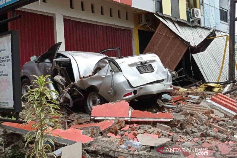 Foto terbaru dampak gempa bumi di Sulawesi Barat - ANTARA News