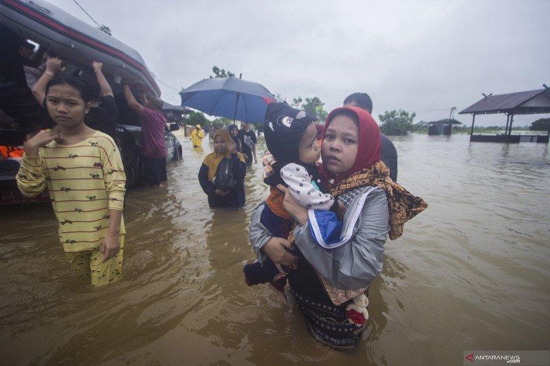 Banjir semakin meluas, Kalsel tetapkan status tanggap ...