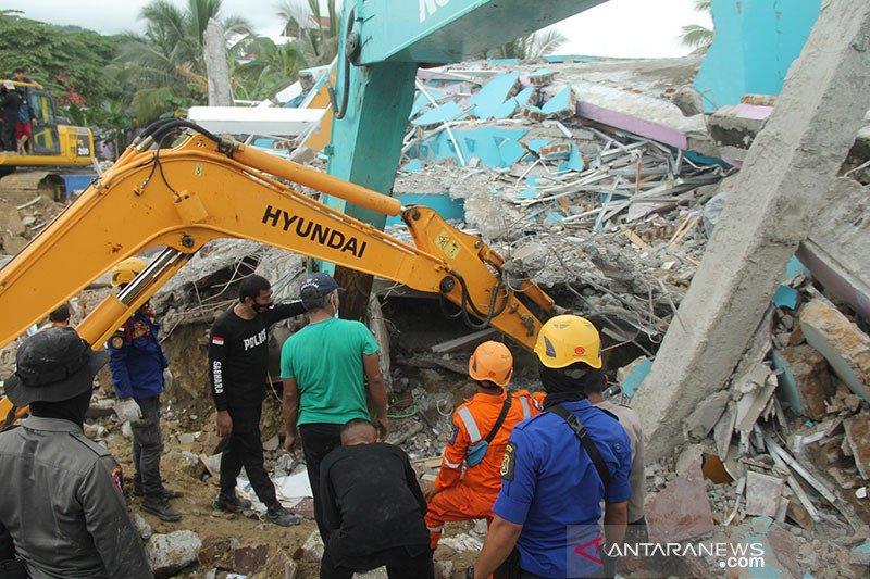 Delapan meninggal dan 637 luka akibat gempa di Sulawesi Barat
