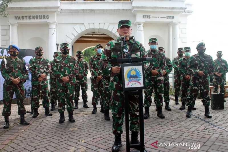Di Benteng Vastenburg Solo, TNI-AD dirikan Rumkitlap COVID-19