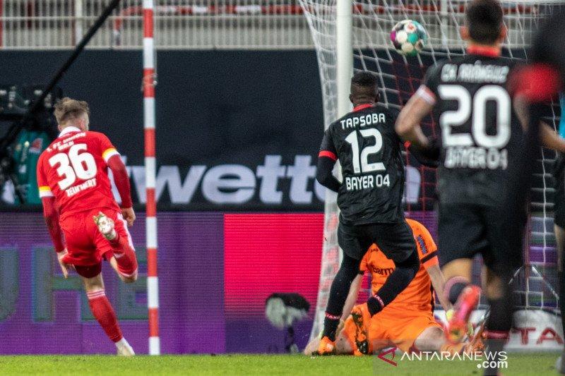 Teuchert antarkan Union tekuk Leverkusen 1-0