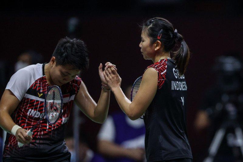 Greysia/Apriyani emosional masuk final Thailand Open 2021