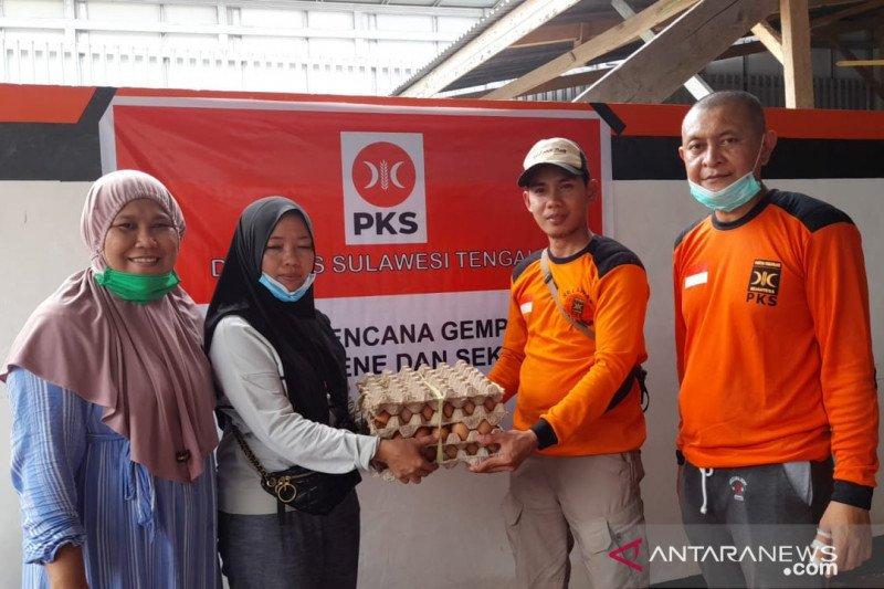 PKS Sulteng:  Pengungsi gempa Sulbar sangat butuh bahan pokok dan obat