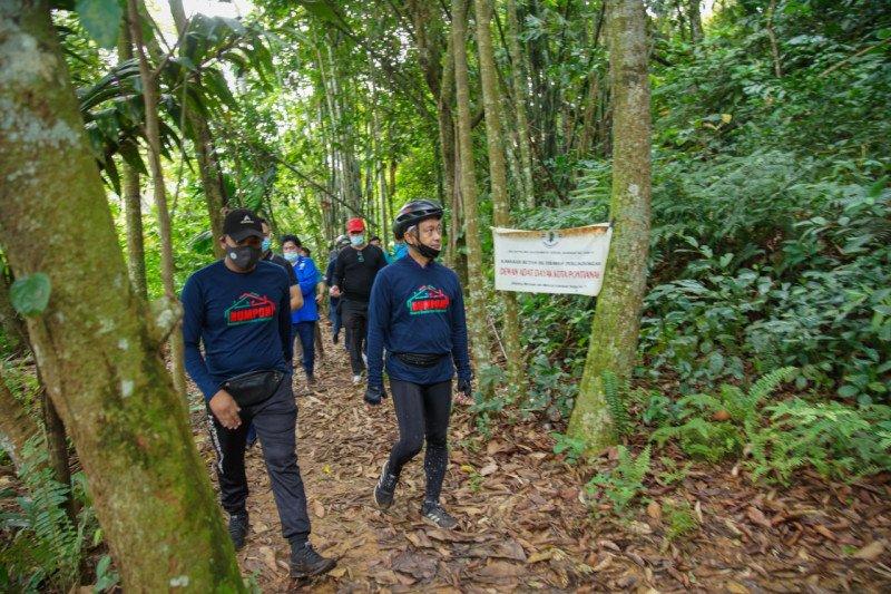 """Pemkot Pontianak """"sulap"""" Bukit Rel di Kelurahan Batu Layang destinasi wisata baru"""
