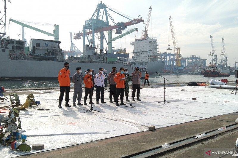 Basarnas menegaskan CVR Sriwijaya Air SJ-182 belum ditemukan