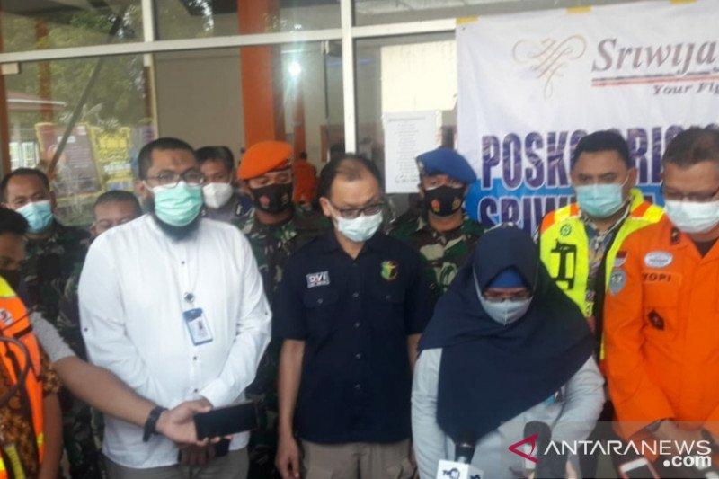 Dua jenazah korban kecelakaan pesawat Sriwijaya tiba di Bandara Supadio