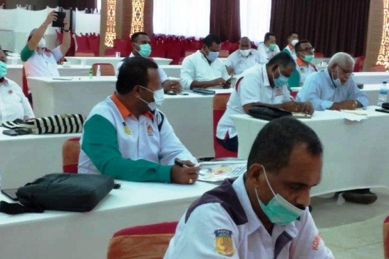 KONI Papua kumpul 37 pengurus cabor untuk sukses prestasi PON 2021
