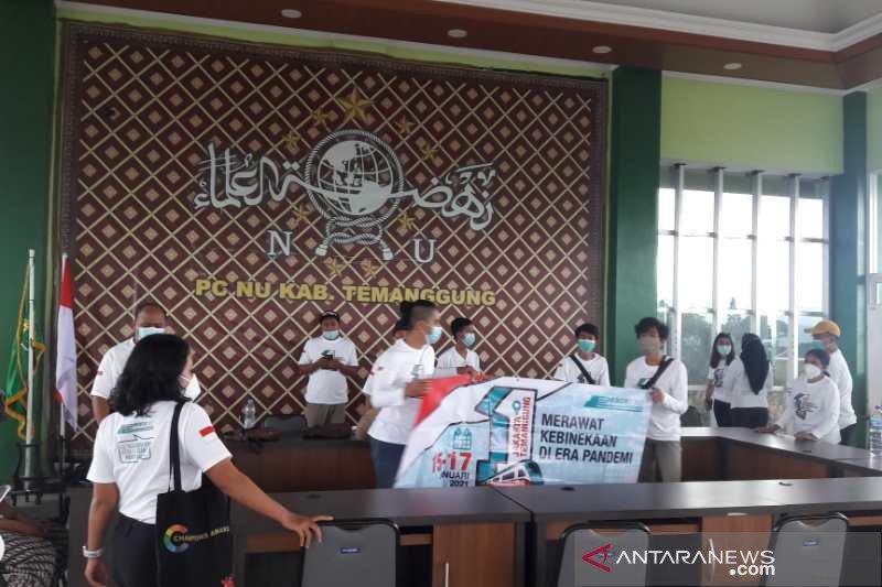 Pemuda lintas agama ikuti Peace Train Indonesia di Temanggung