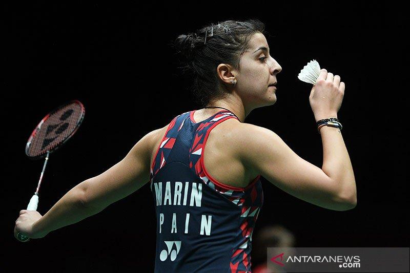 Marin permalukan Sindhu untuk rebut juara Swiss Open