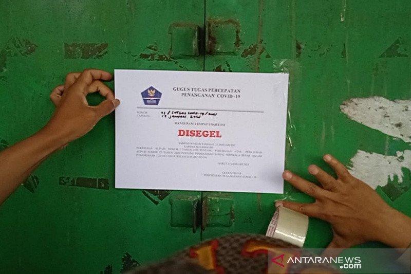 GOR Sudirman di Garut disegel karena langgar protokol kesehatan