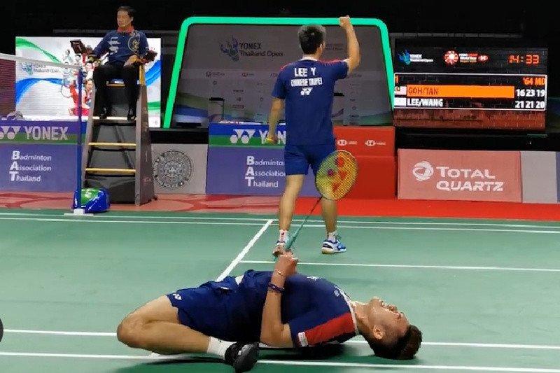 Lee Yang/Wang Chi-Lin juara ganda putra Thailand Open 2021