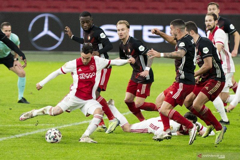 Ajax menang tipis 1-0 atas Feyenoord dalam derbi De Klassieker