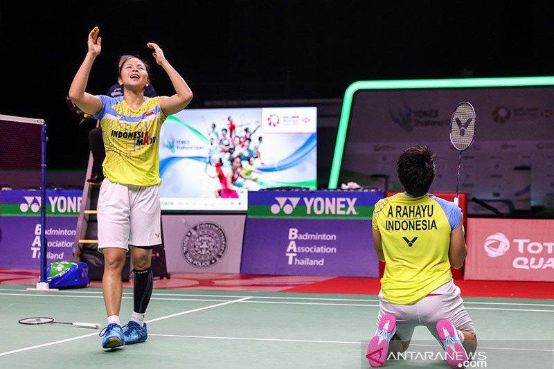 Greysia/Apriyani memenangi laga pertama Thailand Open II