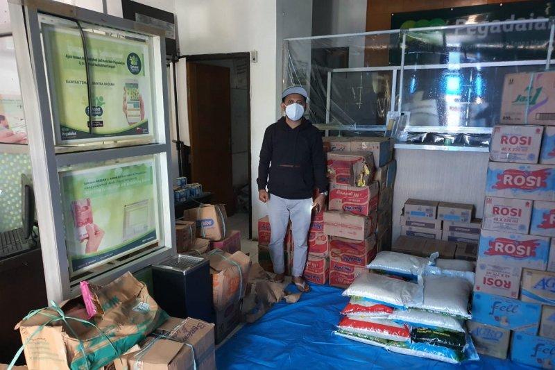 PT Pegadaian Kanwil VI Makassar salurkan bantuan untuk korban gempa Sulbar