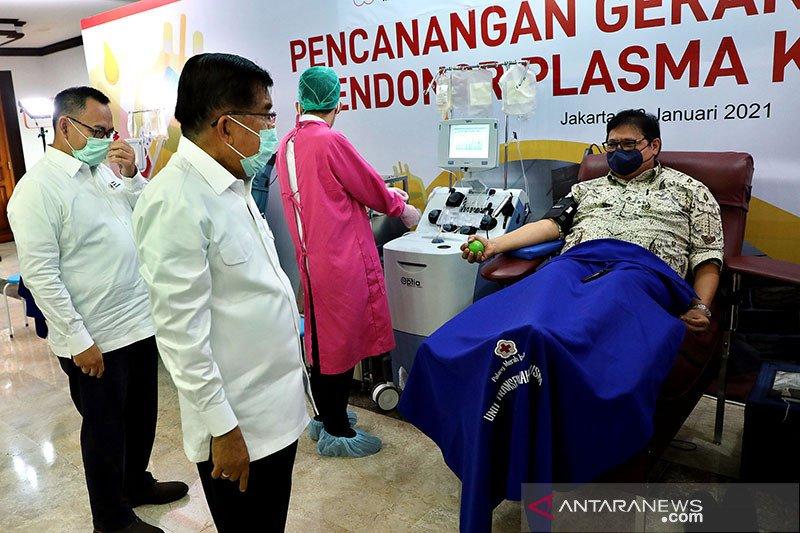 PMI Yogyakarta menyiapkan alat layani donor plasma konvalesen