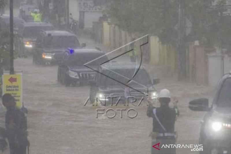 Presiden Tinjau Langsung Banjir Di Kalimantan Selatan
