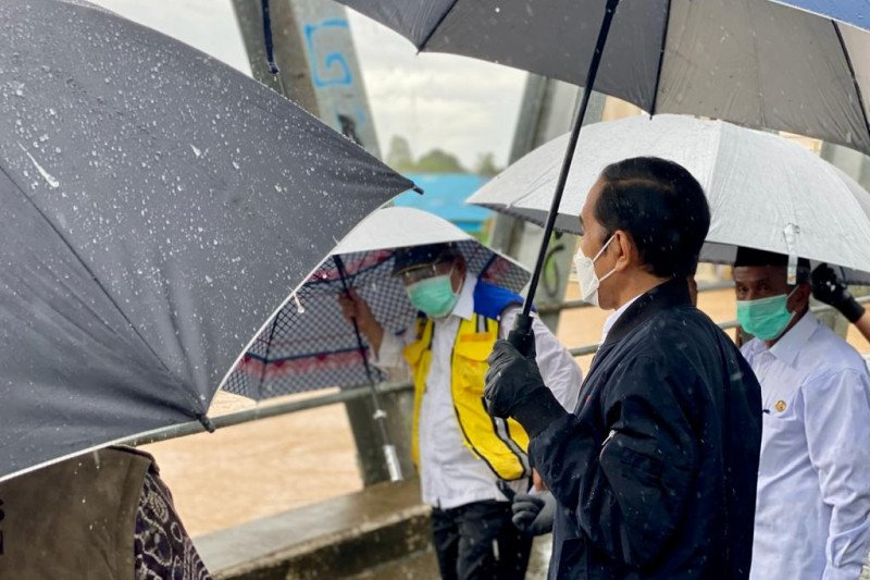 Presiden Jokowi: Banjir besar Kalsel menjadi yang pertama dalam 50 tahun