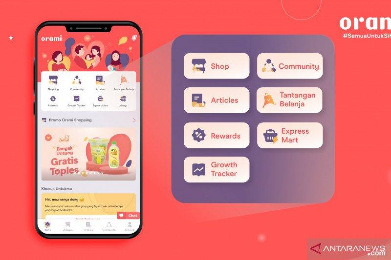 Orami perkenalkan logo dan fitur di aplikasi baru