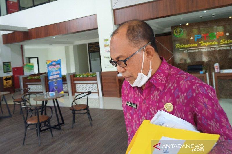 Kadistanbun NTB diperiksa penyidik kejaksaan terkait kasus dugaan korupsi benih jagung 2017