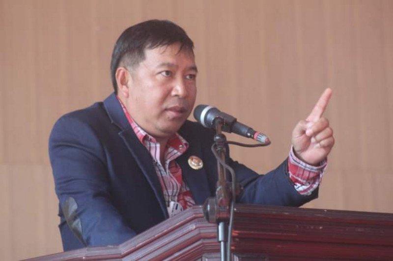 Bupati Sumendap mentahkan isi laporan LSM di KPK