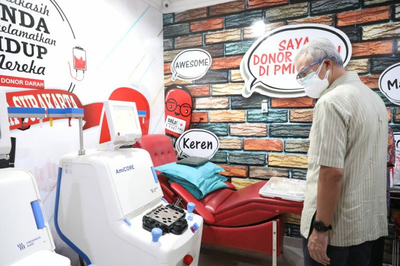 Gubernur dorong terapi plasma konvalesen bagi pasien COVID