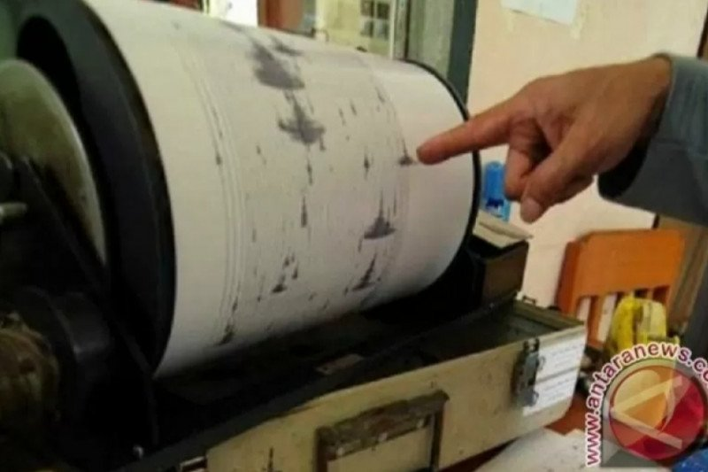 Gempa  magnitudo 5,2 guncang Alor