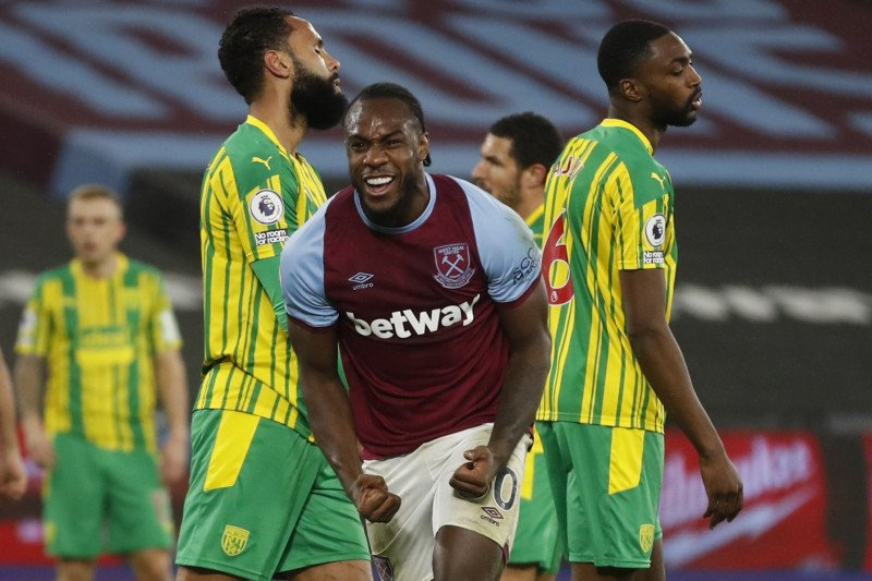 Antonio antarkan West Ham menang 2-1 atas West Brom