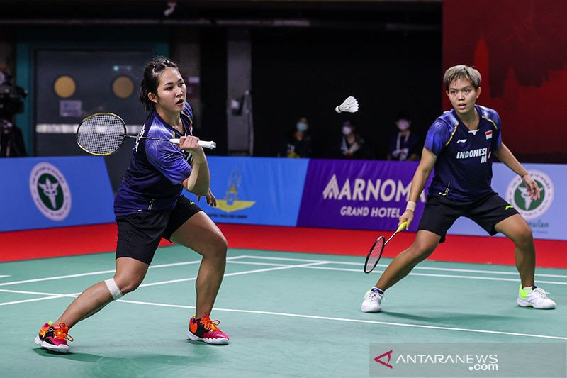 Persiapan ganda putri Fadia/Ribka terus digenjot untuk Piala Sudirman