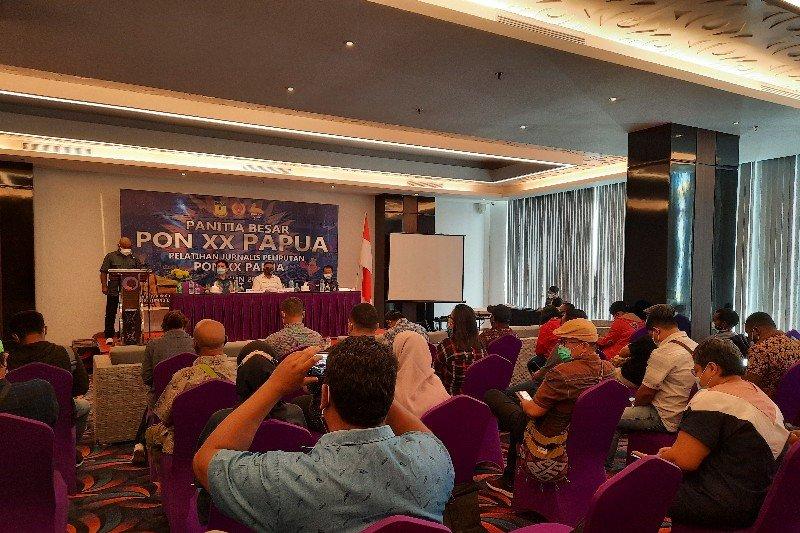 PB PON Papua gelar pelatihan bagi jurnalis peliput PON XX