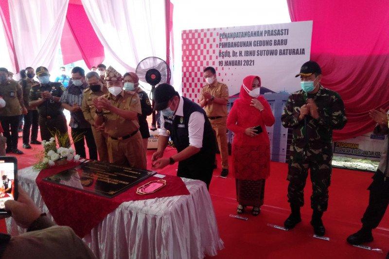 RSUD Ibnu Sutowo Baturaja  menjadi rumah sakit layanan regional