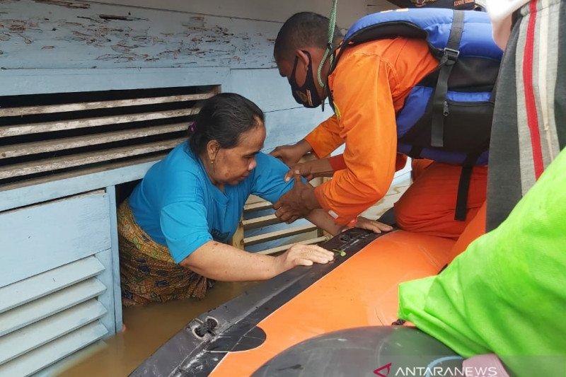 Basarnas fokus  sisir  tiga wilayah paling terdampak banjir di Kalsel