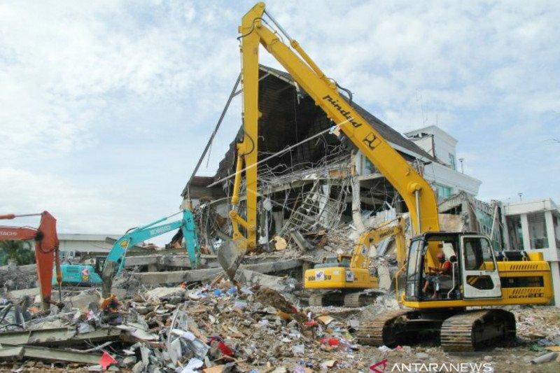 Korban meninggal akibat gempa  di Sulbar  91 jiwa