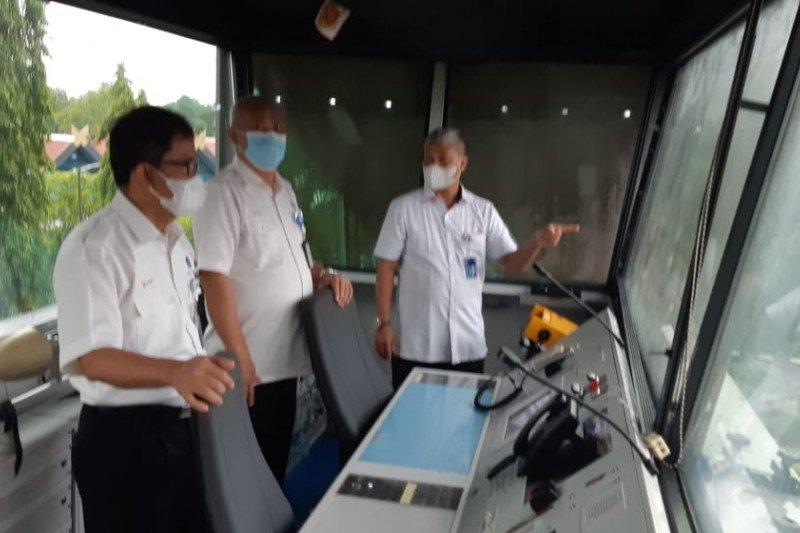 """Optimalkan navigasi, Airnav gunakan """"mobile tower"""" di Bandara Tampa Padang Mamuju"""