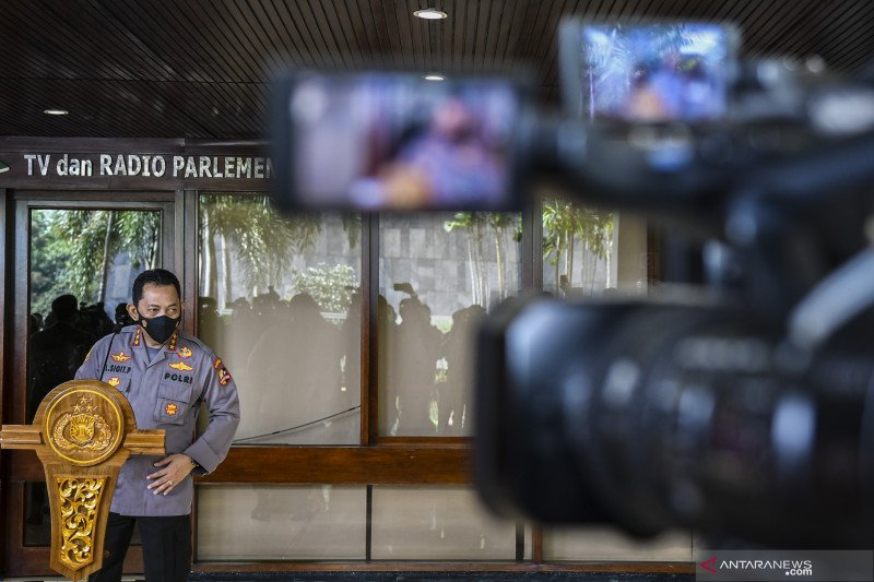 Hari ini DPR gelar Paripurna ambil keputusan terkait calon Kapolri