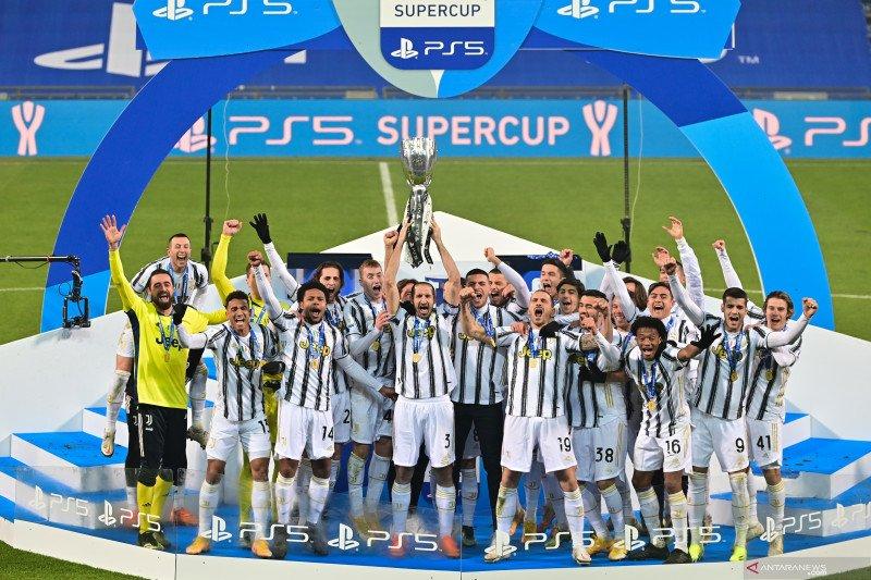 Juventus menangi Piala Super Italia usai taklukkan Napoli 2-0