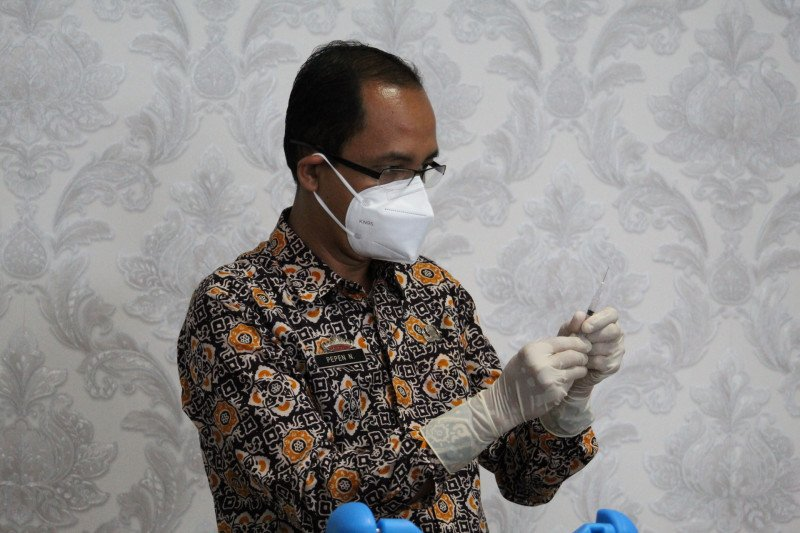 Jubir : Capaian vaksinasi COVID-19 bagi petugas kesehatan masih sesuai target
