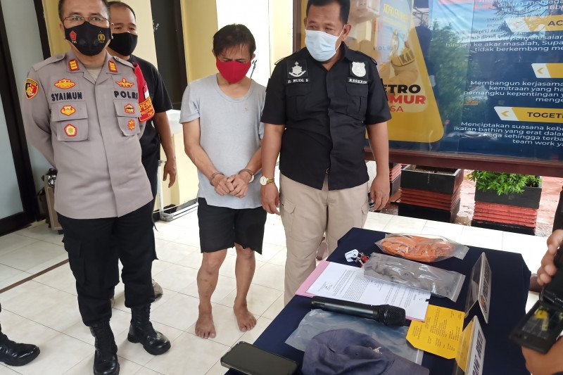 Pria pelaku eksibisionis terhadap istri Isa Bajaj ditangkap