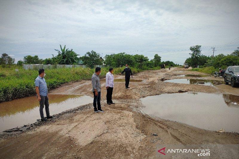 DPRD dorong percepat penanganan darurat jalan lingkar selatan Sampit