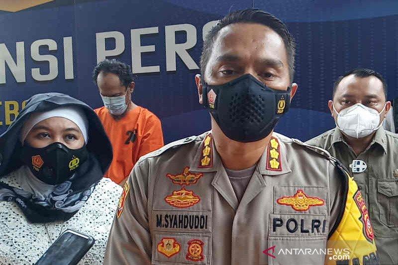 Polresta Cirebon selamatkan uang negara Rp1,4 miliar dari empat kades koruptor