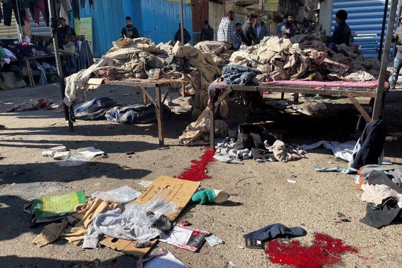 Serangan bunuh diri besar pertama di Irak tewaskan 32 orang