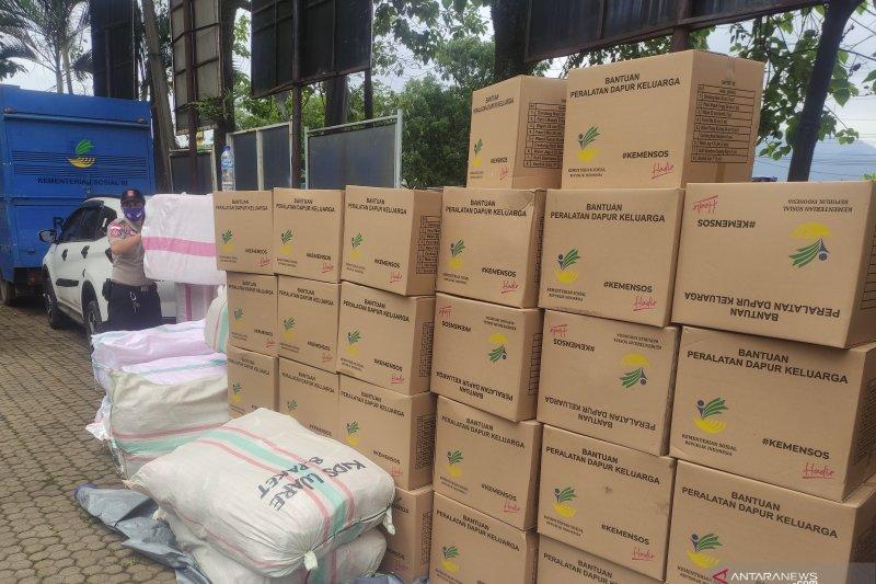 DPR berikan bantuan stok pangan dan kelengkapan kebencanaan