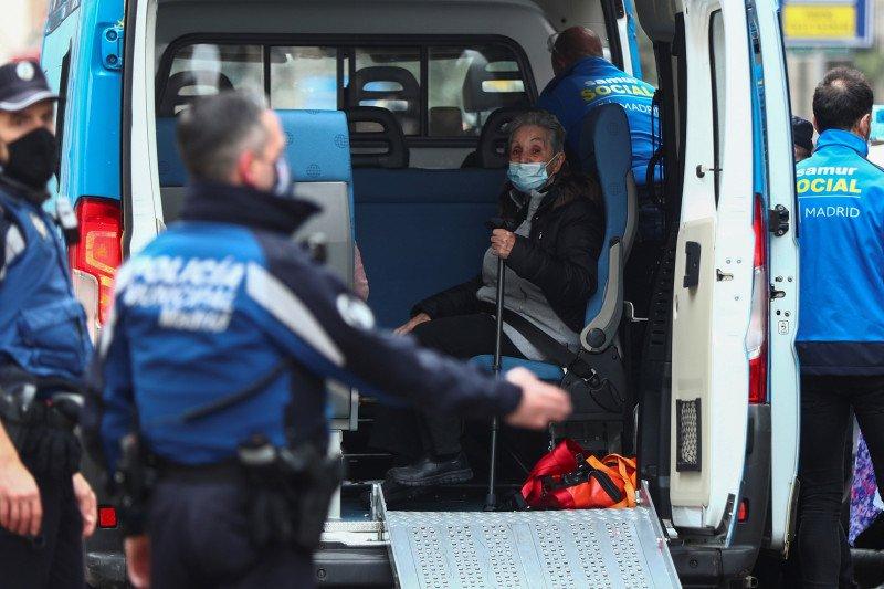 Tiga tewas dan 11 luka-luka akibat ledakan  di Madrid